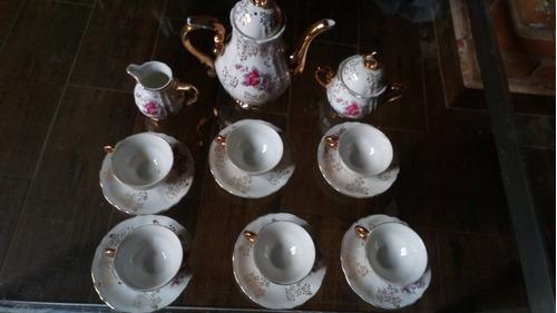 juego de té, parvani 24 k