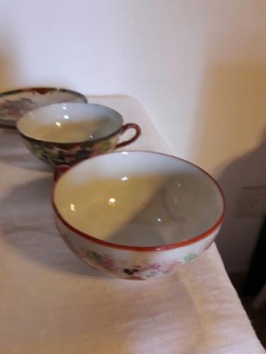 juego de te porcelana oriental