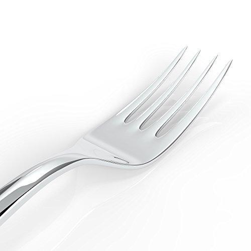Juego de Tenedores de 12 Hokky Tenedores de Cena de Acero Inoxidable