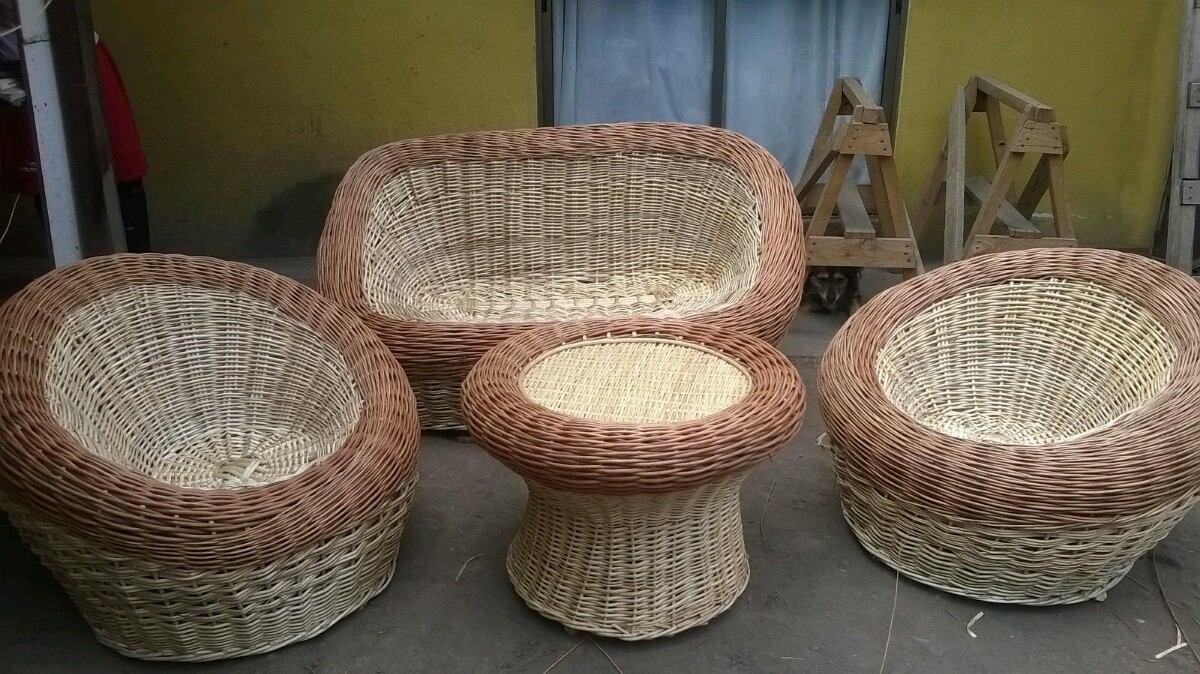 Juego de terraza de mimbre en mercado libre for Ofertas muebles de terraza