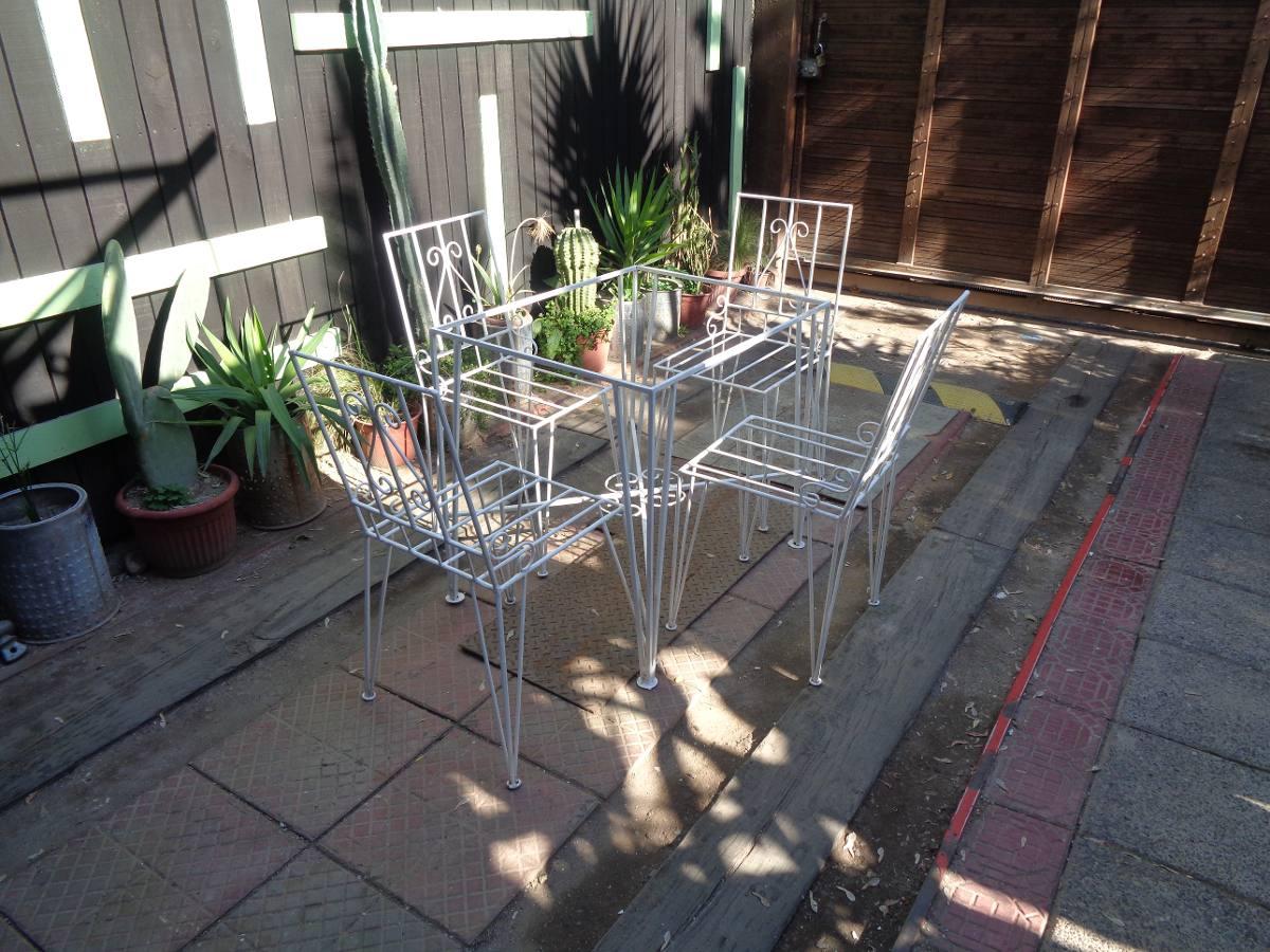 Juego de terraza comedor vintage n 3 en - Comedor de terraza ...