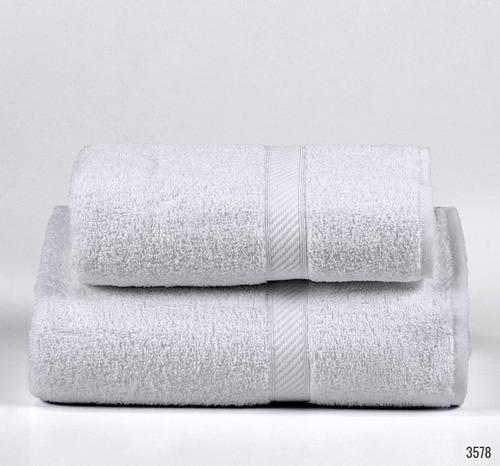 juego de toalla y toallon danubio classic 400 gramos