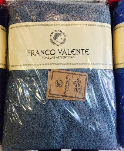 juego de toalla y toallón franco valente 500g varios mankala