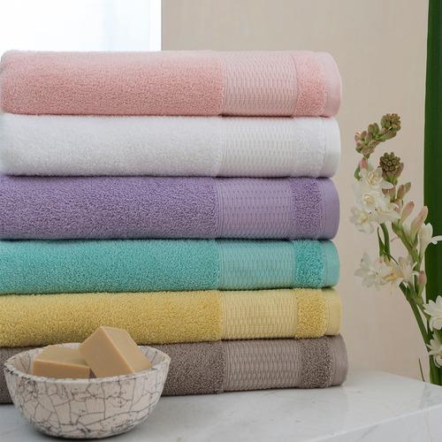 juego de toallas arco iris brent 550 gr 100% algodón grandes