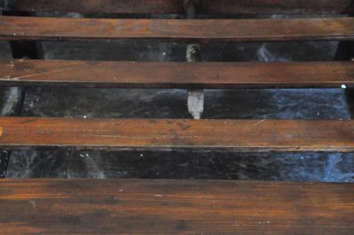 juego de tres sillones provenzal antiguos madera