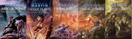 juego de tronos 5 libros originales