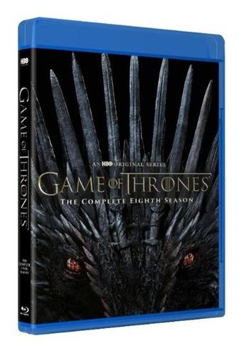 juego de tronos, bluray ,temporada 8