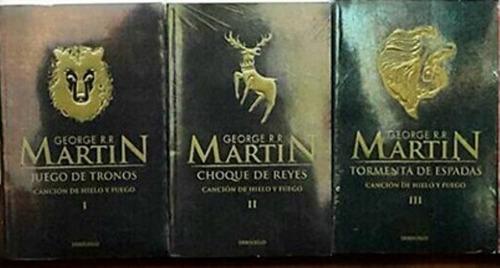 juego de tronos canción de hielo y fuego 1,2,3 g. martin - d