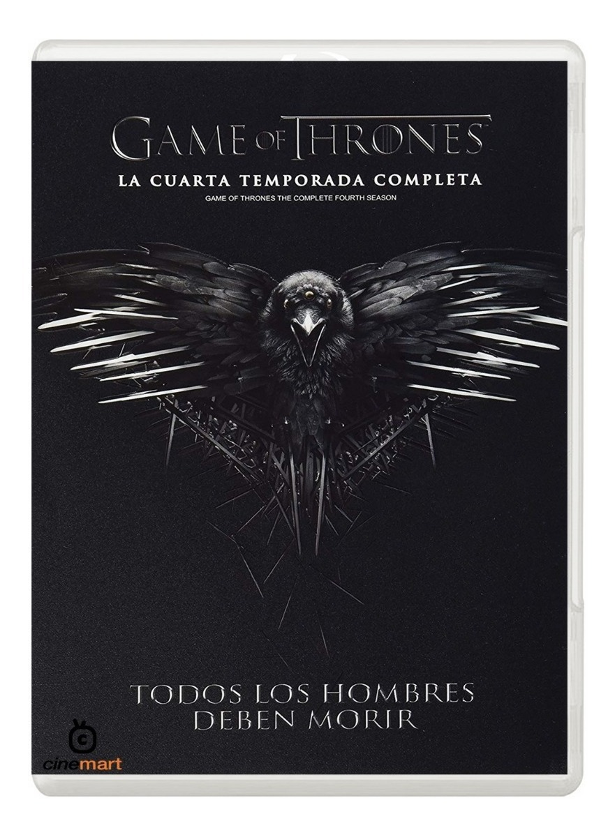 Juego De Tronos Game Of Thrones Cuarta Temporada 4 Dvd - $ 219.00 en ...