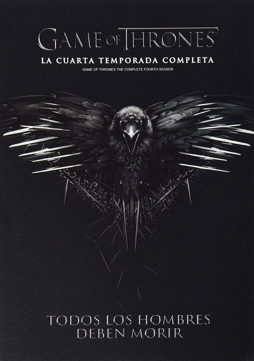 Juego De Tronos Game Of Thrones Cuarta Temporada 4 Dvd - $ 199.00 en ...