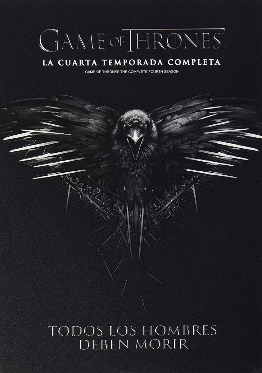 Juego De Tronos Game Of Thrones Cuarta Temporada 4 Dvd - $ 209.00 en ...