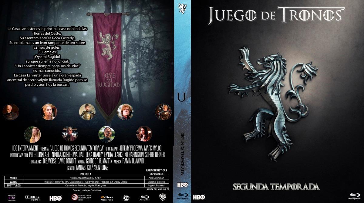 Juego De Tronos - Game Of Thrones (serie Completa) Descarga - $ 410 ...