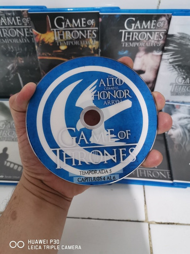 juego de tronos game of thrones serie completa dvd datos fhd