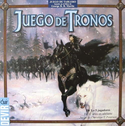 Juego De Tronos Juego De Mesa Game Of Thrones Espanol 1 850 00