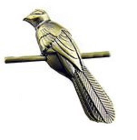 juego de tronos - pin/broche pajaro sinsonte petyr baelish