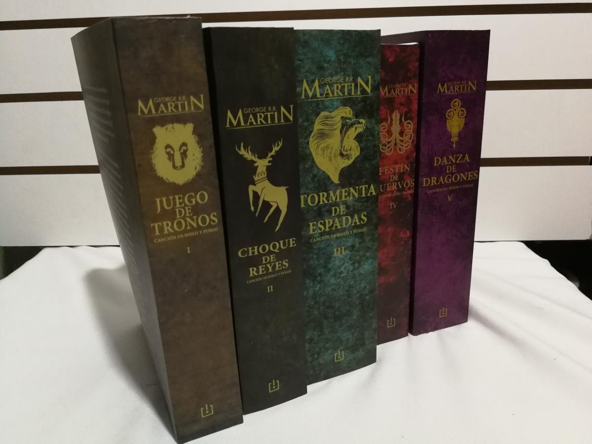 Juego De Tronos Saga Completa R. R. Martín 5 Libros Nuevos - U$S 89 ...