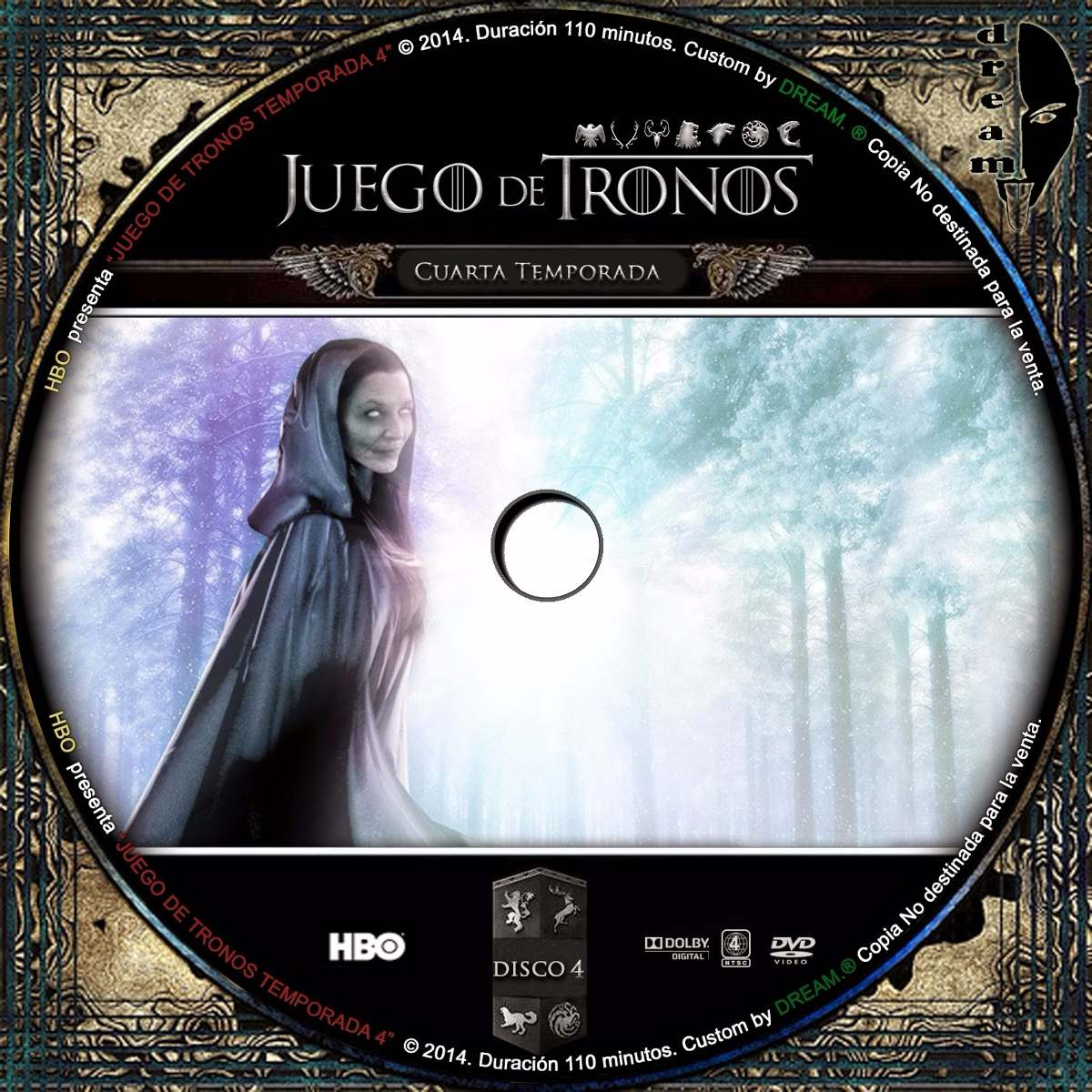 Juego De Tronos Temporada 4 Dvd Full Menu - Bs. 40.000,00 en Mercado ...