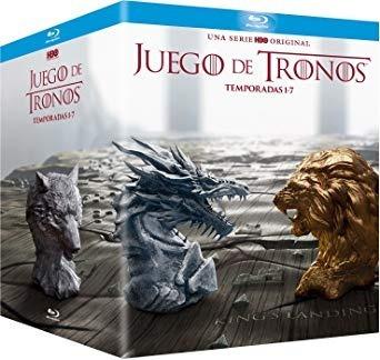 juego de tronos - temporadas 1 a 7 bluray original