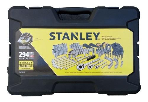 juego de tubos 294 pzas stanley tipo racing stmt78078