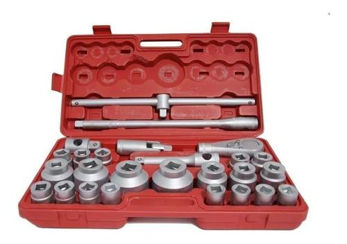 juego de tubos bocallave para camiones 26 piezas 3/4´´