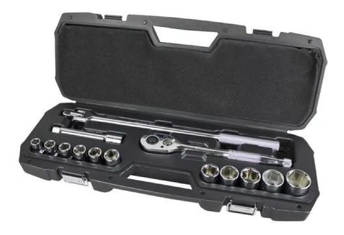 juego de tubos dados stanley stmt80703 15 piezas 1/2 maleta.