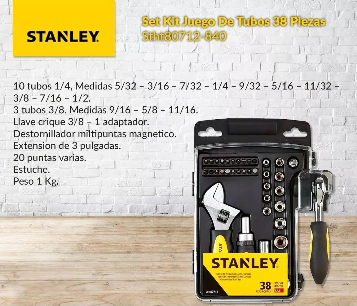 juego de tubos stanley stht80712 - con envío gratis. Cargando zoom. 94db7ea37b8e