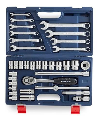 juego de tubos y llaves combinadas 35 pz x 1/2 6066 bremen