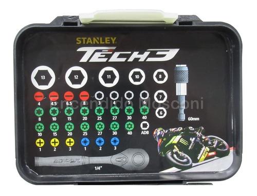 juego de tubos y puntas 39 piezas tech 3 stanley stht9-13906