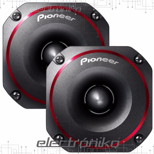 juego de tweeter pioneer ts-b350 200w máx 100 watt rms