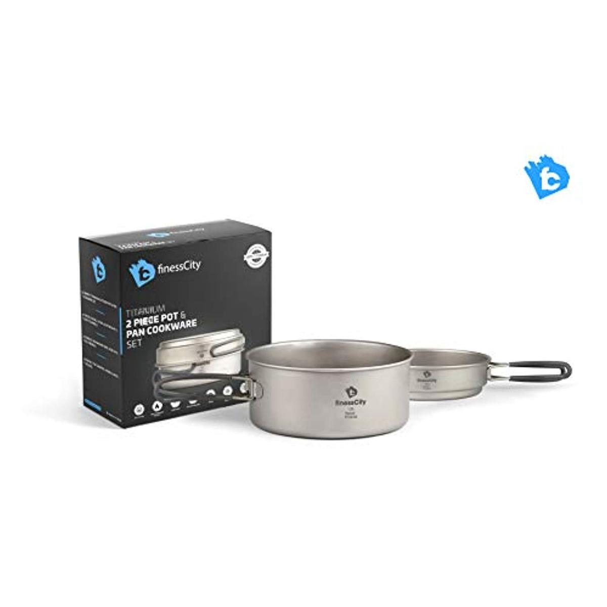 dd4ab187ea3 Juego De Utensilios Cocina Camping Titanio - $ 273.599 en Mercado Libre