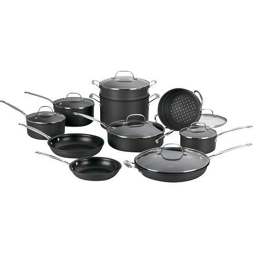 Juego de utensilios de cocina antiadherentes de 17 piezas for Juego de utensilios de cocina