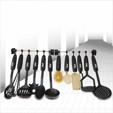 Juego de utensilios de cocina incluye dos barras para for Juego utensilios cocina