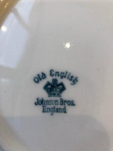 juego de vajilla inglesa johnson bros  de 87 piezas