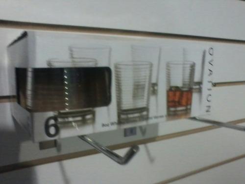 juego de vasos 6 unidades.