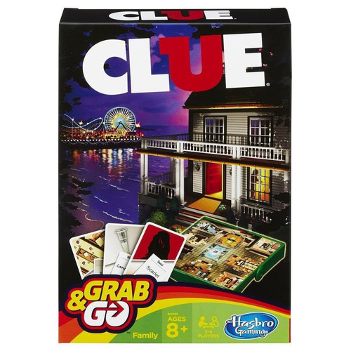 juego de viaje clue (3699)