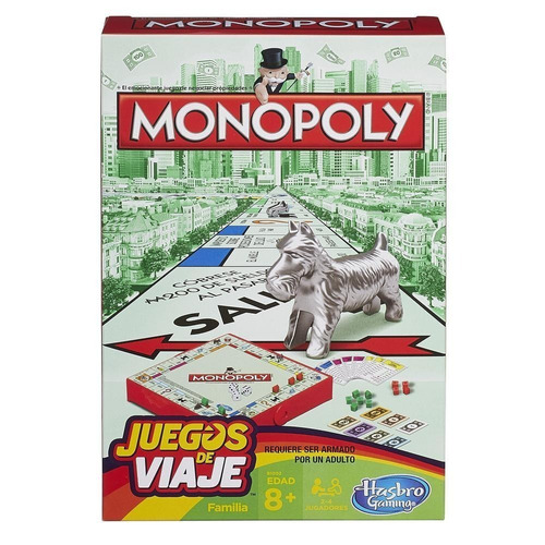 juego de viaje monopoly (3699)