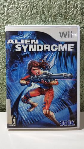 juego de wii - alien syndrome