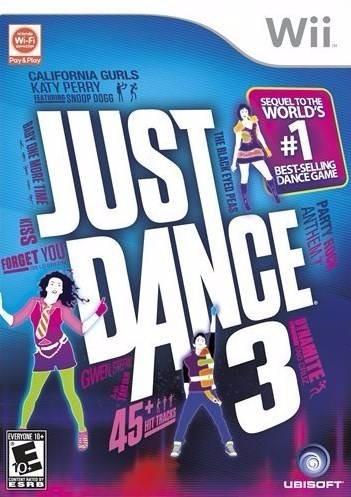 juego de wii just dance 3 envio gratis