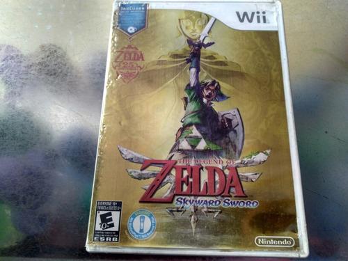 juego de wii original,the legend of zelda skyward aword e,e