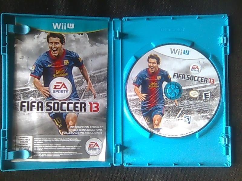 Juego De Wii U Fifa Soccer 13 Bs 7 500 00 En Mercado Libre