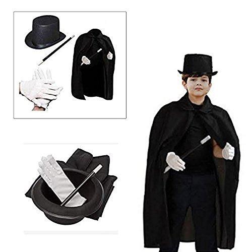 6065bddc09702 Juego Deluxe De Magos Para Niños Con Sombrero De Cabo... -   30.990 ...