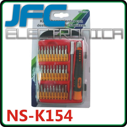 juego destornilladores kit nisuta torx phillips ph t sl h pp