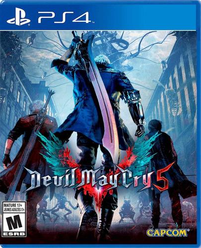 juego devil may cry 5 para ps4 nuevo original