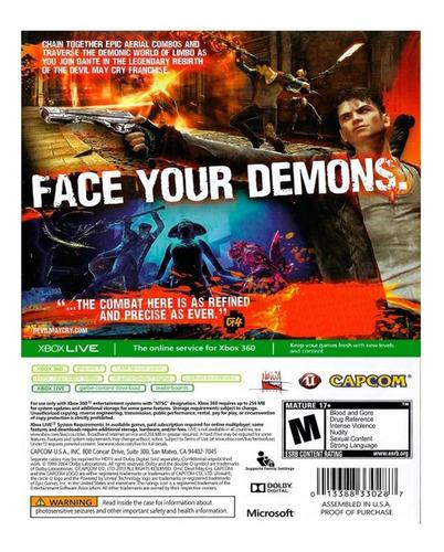 juego devil may cry xbox 360