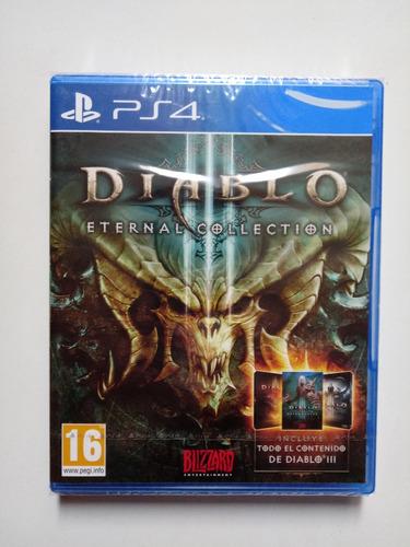 juego diablo 3 eternal collection para ps4 nuevo y sellado