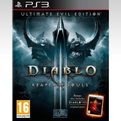 juego diablo iii reaper of souls - ultimate evil edition ps3