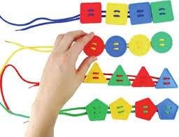 juego didáctico botones geométricos.
