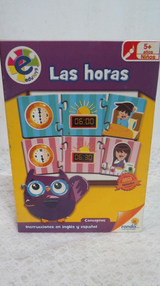 Juego Didactico De Las Horas Marca Ronda Bs 050 En Mercado Libre