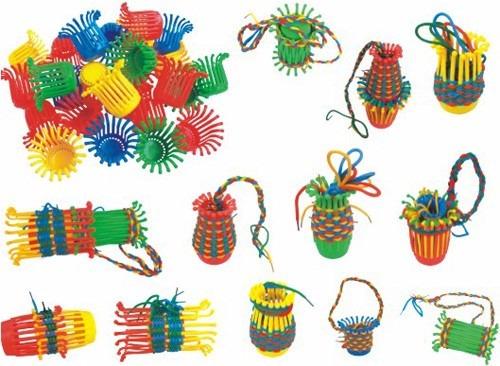juego didáctico enhebrar y tejido para niños ref: mck7258