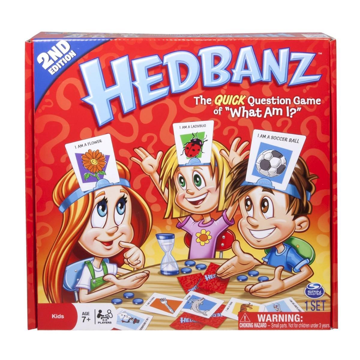 Juego Didactico Hasbro Hedbanz Rojo 35 699 En Mercado Libre